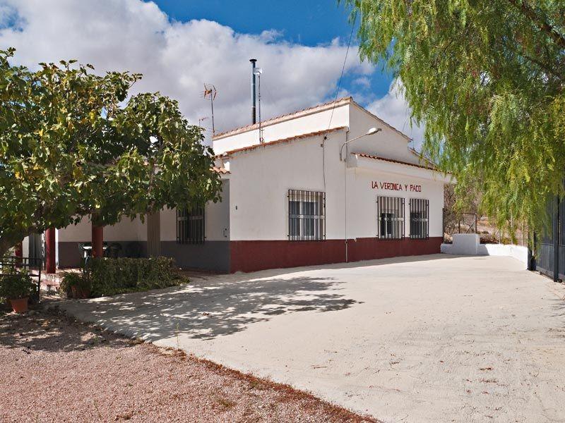 4 bedroom finca for sale in Hondón de los Frailes, Costa Blanca