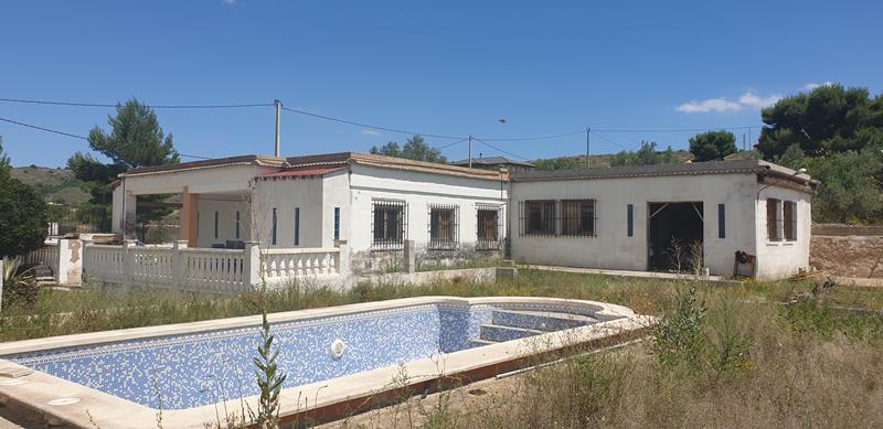 For sale: 5 bedroom house / villa in Hondón de las Nieves, Costa Blanca